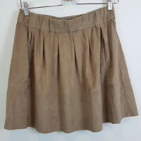 SPORTSGIRL | Womens Faux Suede Skirt  [ Size S or AU 10 / US 6 ]