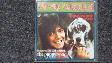 David Cassidy - Daydreamer (Sonador)/ The puppy song 7'' Single SPAIN