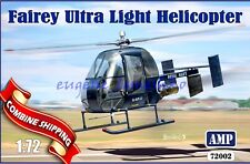 "AMP 72002 "" Fairey Ultra Light Helicopter (+Resin, PE parts) "" Plastic Kits 1/72"