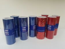 Lot Of 8, Red And Blue Tulle
