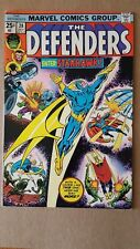 Defenders #28 (Marvel Comics) First Appearance of StarHawk GOTG ~ High Grade FN+