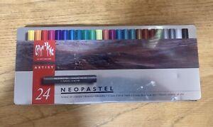Caran d'Ache Neopastel set of 24 Artist's Oil Crayons / Pastels