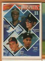 1994 Topps Baseball - Prospects #158 Derek Jeter - New York Yankees