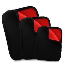 "Black Soft NEOPRENE Sleeve Case Cover Pouch Bag for 11"" 13"" 15"" Tablet Laptop"