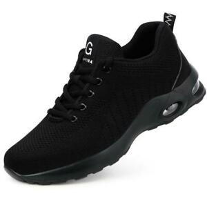 STEEL TOE CAP SAFETY SHOCK ABSORBING TRAINERS MENS WOMENS BOOT HIKING SHOES