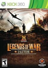 History: Legends of War Patton - Xbox 360 Game