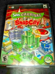 Sims Carnival SnapCity (PC) 2007  new sealed