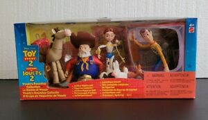 "NEW ""WOODY'S ROUNDUP"" CHARACTERS FROM TOY STORY 2--PROSPECTOR, BULLSEYE, JESSIE"