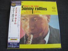 SONNY ROLLINS, Now's The Time, JAPAN CD Mini LP, BVCJ-37213, K2 24bit, RCA 100