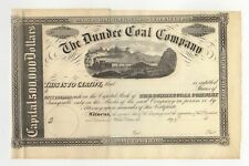 Dundee Coal Co. Stock Certificate - Unissued