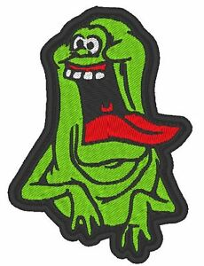 ONE TV - MOVIE - COSPLAY EMBROIDERED SLIMER PATCH INSPIRED BY GHOSTBUSTERS