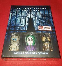 "Coffret Blu-Ray Batman "" the Dark Knight "" Trilogie + 3 Figurines Cosbaby"