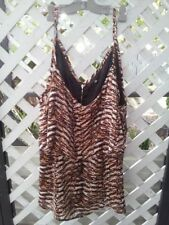 Animal Print City Chic Casual Plus Size Tops & Blouses for Women