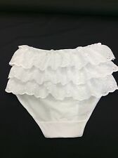 White Cotton Knickers, Sissy Panties, Sleepwear