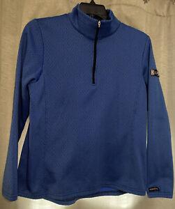 Kerrits Women's XL Equestrian Riding Pullover Long Sleeve 1/4 Zip Shirt USA EUC