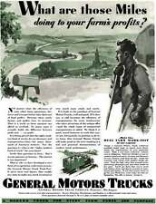 General Motors 1929 - Gm Truck Ad - What are those Miles doing to your farm's pr