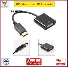 DP Display Port DisplayPort Male To DVI Female 24+5 Pin Converter [A7T2~D1]