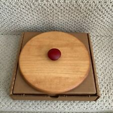 Longaberger Jingle Bell Lid - Red