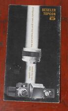 TOPCON SUPER D SALES BROCHURE, PUB CODE CB 123-963-LITHO/154956