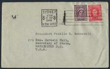 Australia 1944 From The Private Collection Of Franklin D Roosevelt War Time Cove