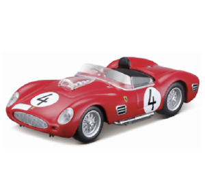 BBURAGO 1:43 FERRARI 1959 250 Testa Rossa DIECAST MODEL RACING CAR NEW IN BOX