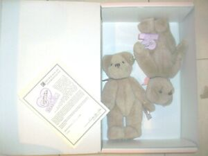 """Annette Funicello Jessie & Jayme 9"""" Plush Bears LIMITED EDITION"""