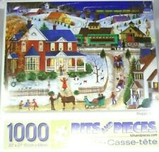 "Bits And Pieces Brand ""HAPPY DANCE"" 1000 Piece Puzzle!"