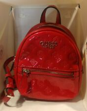 Women's Guess Red Mini Backpack