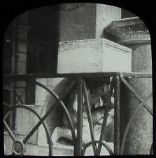 Glass Magic Lantern Slide VENICE THE HUNCHBACK OF RIALTO C1910 PHOTO ITALY
