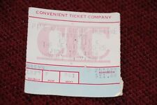 1980 Tom Petty Heartbreakers Concert Ticket Stub Detroit Damn The Torpedoes Tour