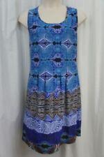 Polyester Paisley Dresses for Women's Shift Dresses