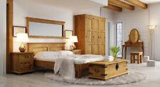 Schlafzimmereinrichtung komplett SET116 aus Massivholz