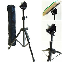 EE_ EE_ DV_ Adjustable Tripod 8 Inch Dumb Drum Stand Holder Practice Pad Rack Br