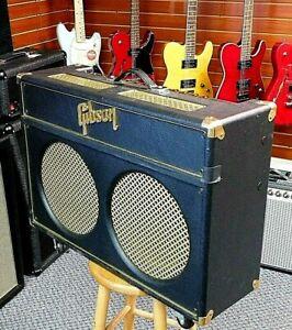 2001 Gibson GA-60RV Super Goldtone Tube 2x12 Combo Amp! Vintage 30's!