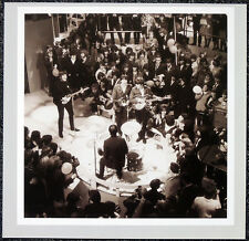 THE BEATLES POSTER PAGE . 1964 FILMING AROUND THE BEATLES JOHN LENNON . H39