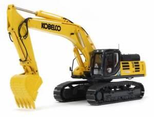 Kobelco SK500LC-10 Excavator - Yellow - Conrad 1:50 Scale Model #2210/1 New!