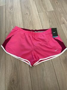 Nike Dry-Fit Women's Running Shorts Gym Size L BNWT