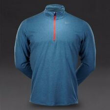 Nike Element 1/2 Cremallera Superior Laca Azul claro/Heather/Reflectante Plateado Correr XL