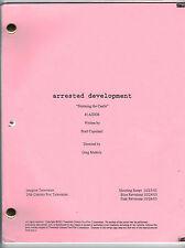 """ARRESTED DEVELOPMENT show script  """"Storming the Castle"""""""