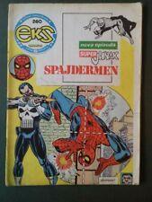 SPIDER-MAN #129, PUNISHER FIRST APP. COMIC MAGAZINE EKS ALMANAH 260. YUGOSLAVIA