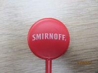 25 x SMIRNOFF COCKTAIL GLASS STIRRERS SPIRIT PARTY DRINK HOME ACCESSORIES NEW