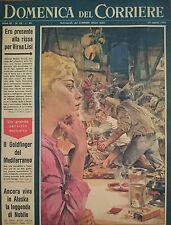 DOMENICA DEL CORRIERE. SETTIMANALE DEL CORRIERE. ANNO 7-N.35 - 29 AGOSTO 1965