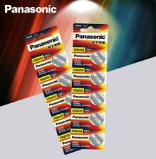 10 x Panasonic cr2032 Button Cell Batteries 3V Coin Battery for Watch 10pcs