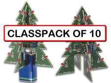 ( CLASSPACK OF 10) VELLEMAN MK130 3D XMAS TREE DIY KIT (soldering kit)