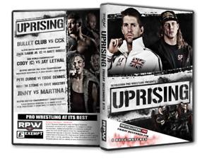 Official RPW - RevPro - Revolution Pro Wrestling Uprising 2017 DVD - Zack Sabre