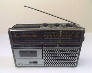 Vintage Cassette Radio ITT Polo Model CASS 109A  | Cass Recorder FM/LW/MW Radio