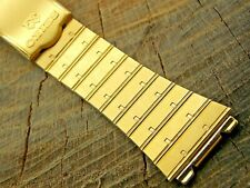Seiko NOS Vintage Unused Base Metal Deployment Clasp Watch Band 23mm Bracelet