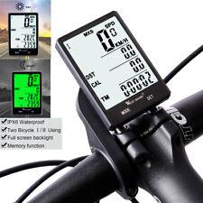 Bicycle Computer MTB Bike Wireless/Wired Speedometer Odometer Temperature Meter