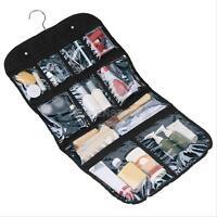 Makeup Toiletry Bag Hanging Folding Wash Cosmetic Travel Stroage Case Organizer