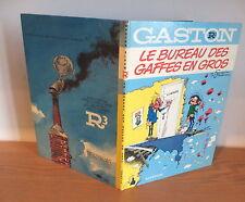 Rare E.O. Gaston Lagaffe dos Rond R2 1972 par FRANQUIN Bel etat 4 Gags Inédit